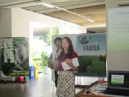Defensora pública destaca a relação entre cidadania e meio ambiente em evento