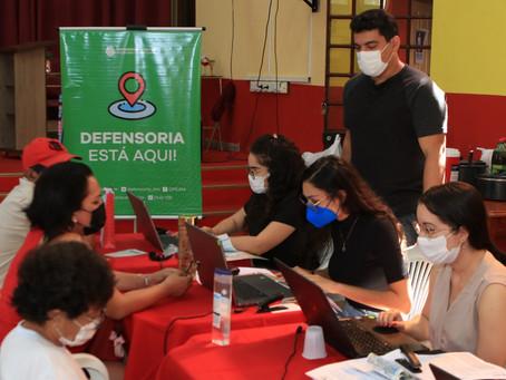 Ação itinerante da Defensoria leva atendimento jurídico na área do consumidor ao bairro Crespo
