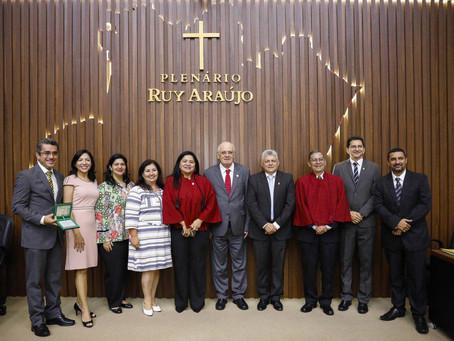 Defensoria presente em homenagem ao Dia do Contador, na Assembleia Legislativa do Estado