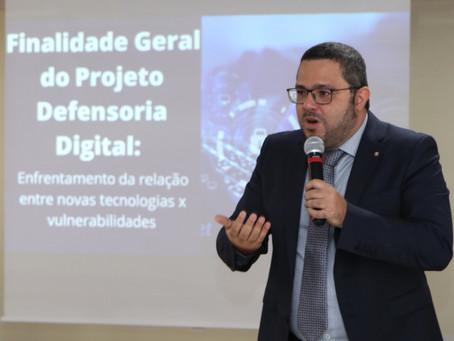 Com foco em conflitos impactados pelas novas tecnologias, DPE-AM lança projeto Defensoria Digital