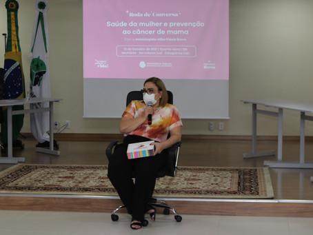 Defensoria promove roda de conversa sobre saúde da mulher