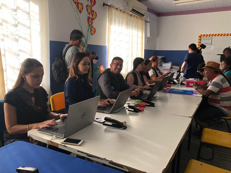 Procura pela Defensoria Itinerante supera expectativa de atendimentos em escola municipal no Zumbi