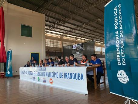 Força Tarefa aciona Amazonas Energia na justiça para fornecimento de água sob pena de multa de R$ 1