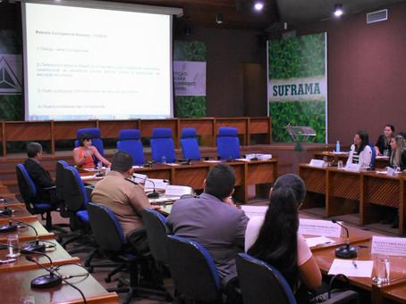 Em palestra na Suframa, Corregedora-Geral da DPE destaca inovações na atuação superando visão tradic
