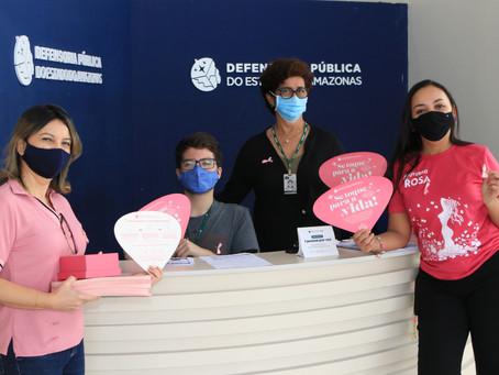Defensoria do Amazonas realiza roda de conversa sobre saúde da mulher e prevenção ao câncer de mama