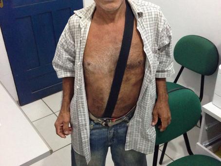"""Em ação da DPE-AM, aposentado obtém direito a uma prótese após mais de 40 anos usando """"perna de"""