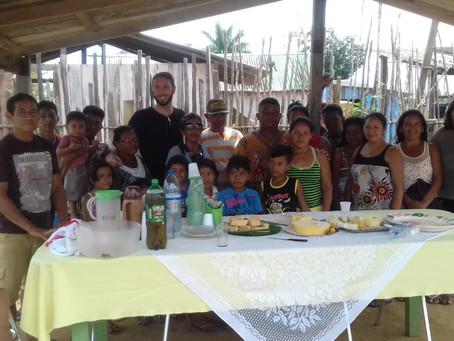 Polo do Baixo Amazonas visita comunidade em Parintins