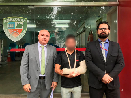 Rapaz agredido por homofobia é assistido pela Defensoria Pública após Polícia Civil registrar caso c