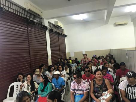 Defensoria Itinerante em Parintins realiza 125 atendimentos no primeiro dia de atividade