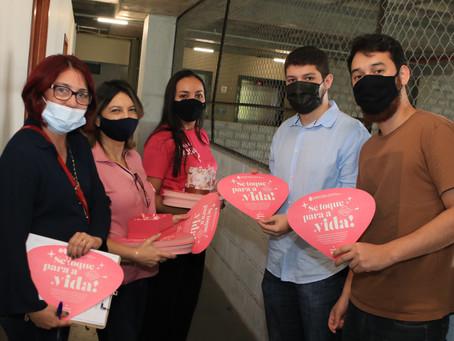 No Outubro Rosa, Defensoria do Amazonas lança campanha 'Se toque para a vida'