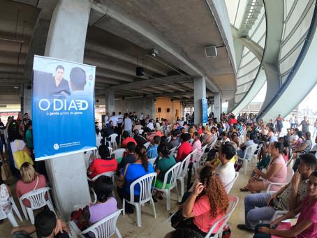 """Intensa procura por serviços do mutirão """"O Dia D"""" reforça necessidade de fortalecimento da Defensori"""