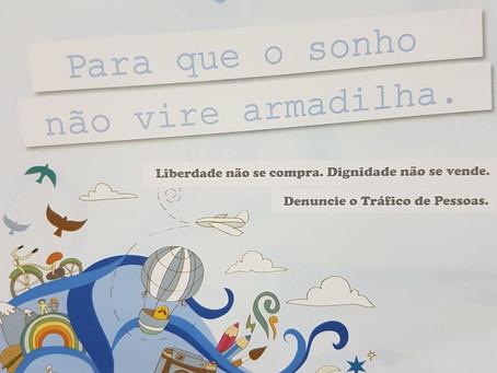 Defensoria Pública participa de campanha contra tráfico de pessoas e exploração sexual de adolescent