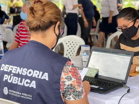 Defensoria realiza ação itinerante em Presidente Figueiredo