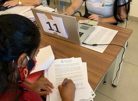 Governo do Amazonas paga 8ª parcela da Bolsa Moradia aos moradores do Monte Horebe