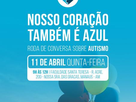 Defensoria promove roda de conversa para contribuir com a conscientização sobre o autismo