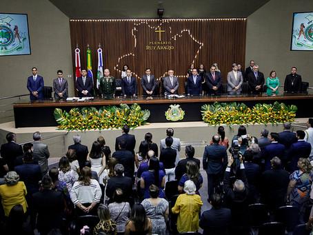 Defensor geral prestigia posses de deputados estaduais e vereadores de Manaus