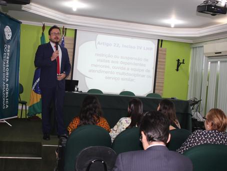 Palestra sobre direitos das mulheres abre comemorações do Dia Nacional do Defensor Público no AM