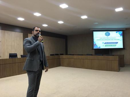 Experiência na mediação de conflitos em Rondônia é destaque em evento sobre judicialização da saúde