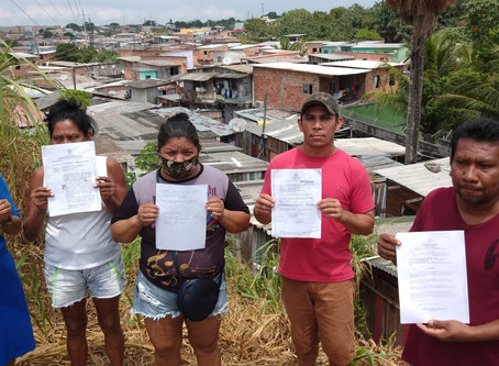 Defensoria ingressa com recurso para impedir reintegração de posse em Manaus