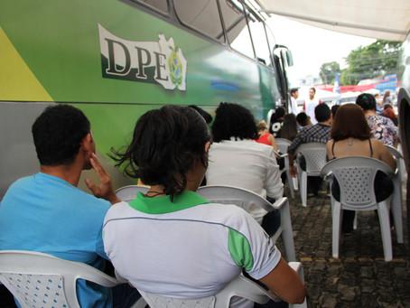 Defensoria Pública encerra nesta sexta-feira ação itinerante na Delegacia da Mulher do Parque Dez