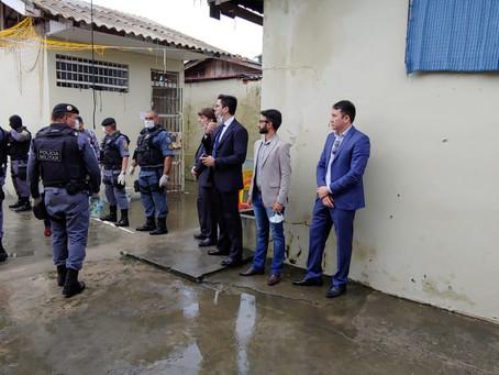 Polo da Defensoria no Baixo Amazonas realiza mutirão carcerário em Parintins