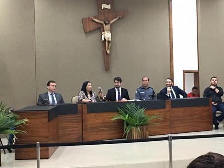 Defensor participa de seminário sobre prevenção à violência contra a mulher em Itacoatiara