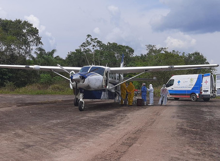 Dez pacientes do interior do Estado com Covid-19 são transferidos para Manaus após ações de DPE e MP