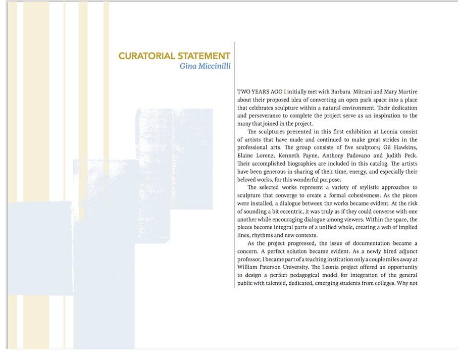 leonia catalog example of creative enter