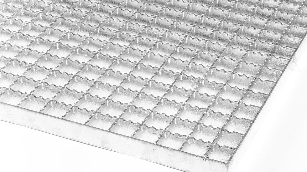 Protiskluzové rošty 1000x1000 mm / 30x30 / 30x2 / žárový zinek