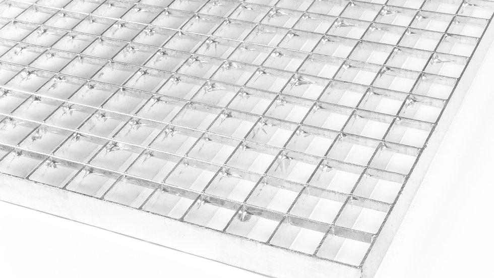 Lisované rošty 1000x1000 mm  / 30x30 / 30x2 / surová ocel