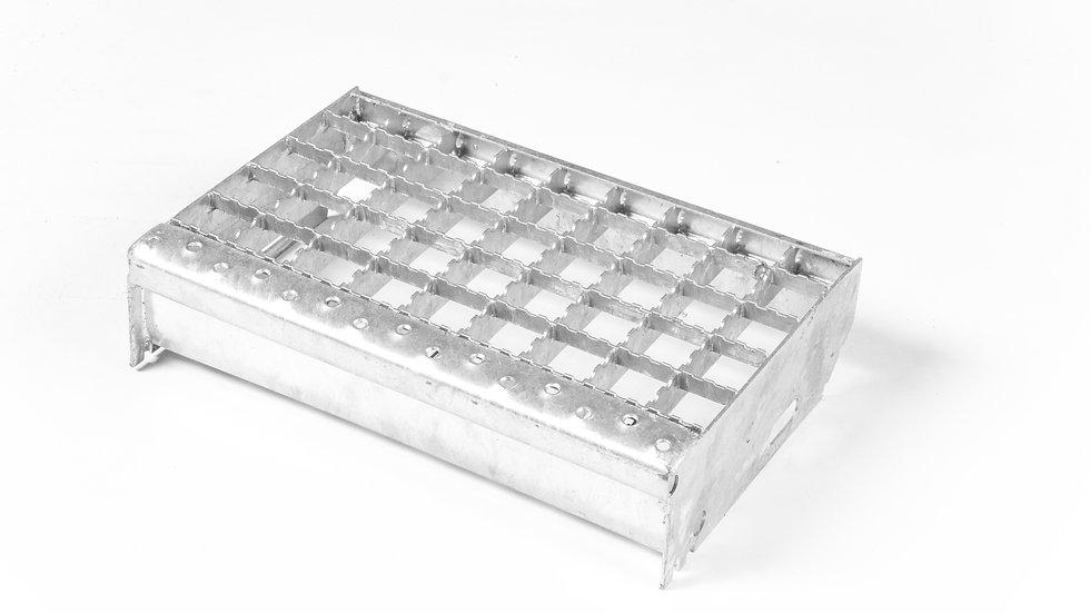 Protiskluzové schodnice 1000x270 mm / 30x30 / 20x1,5 / žárový zinek