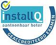 ΓÇó InstallQ logo geaccrediteerde exam