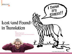 Lost (and Found) in Translation