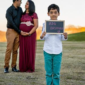 Praveena's Maternity Session