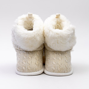 White Toddler Winter Shoes