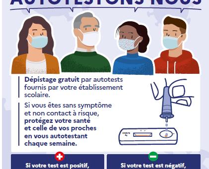 Campagne de dépistage par autotests