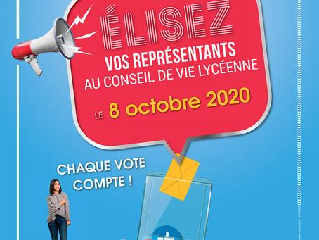 Election au CVL - 2020/2021