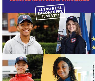 Inscription au SNU - Promotion 2021.