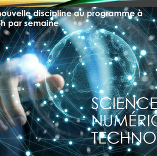 Sciences numériques et technologie 2nde