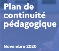 Plan de continuité pédagogique à compter du 16 novembre 2020