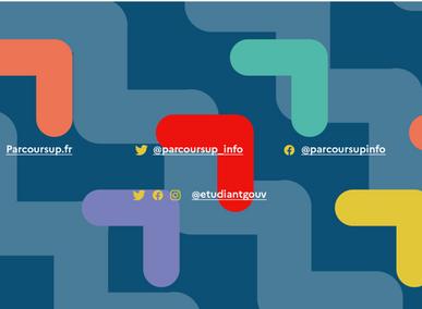 Ouverture du site d'information Parcoursup.fr 2021