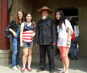 Voyage scolaire à 西安 (Xi'An)  des élèves de Terminale LVC 2013