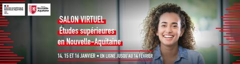 Salon de l'étudiant - Etudes supérieures en Nouvelle-Aquitaine