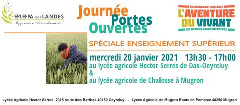 JPO lycées agricoles Dax et Mugron