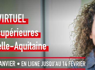 Salon des études supérieures en Nouvelle-Aquitaine