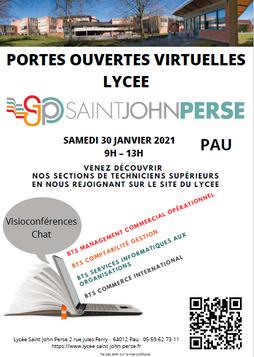 JPO Virtuelles BTS Lycée Saint-John Perse