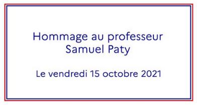 Hommage à Samuel Paty