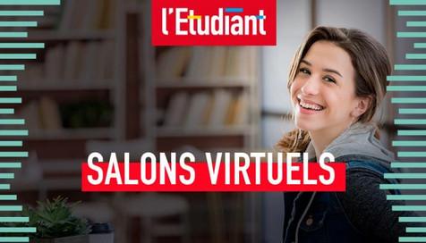 Salons virtuels de l'Etudiant