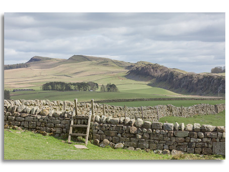 The Northumberland stretch of The Pennine Way - Part 3 - Walltown to Hotbank Crags, Hadrian's Wall