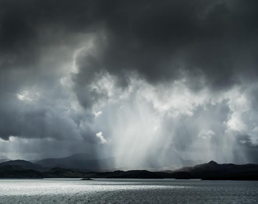 Torridon Downpour from Gairloch